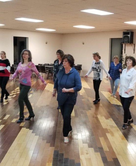 Danse en ligne débutant 1