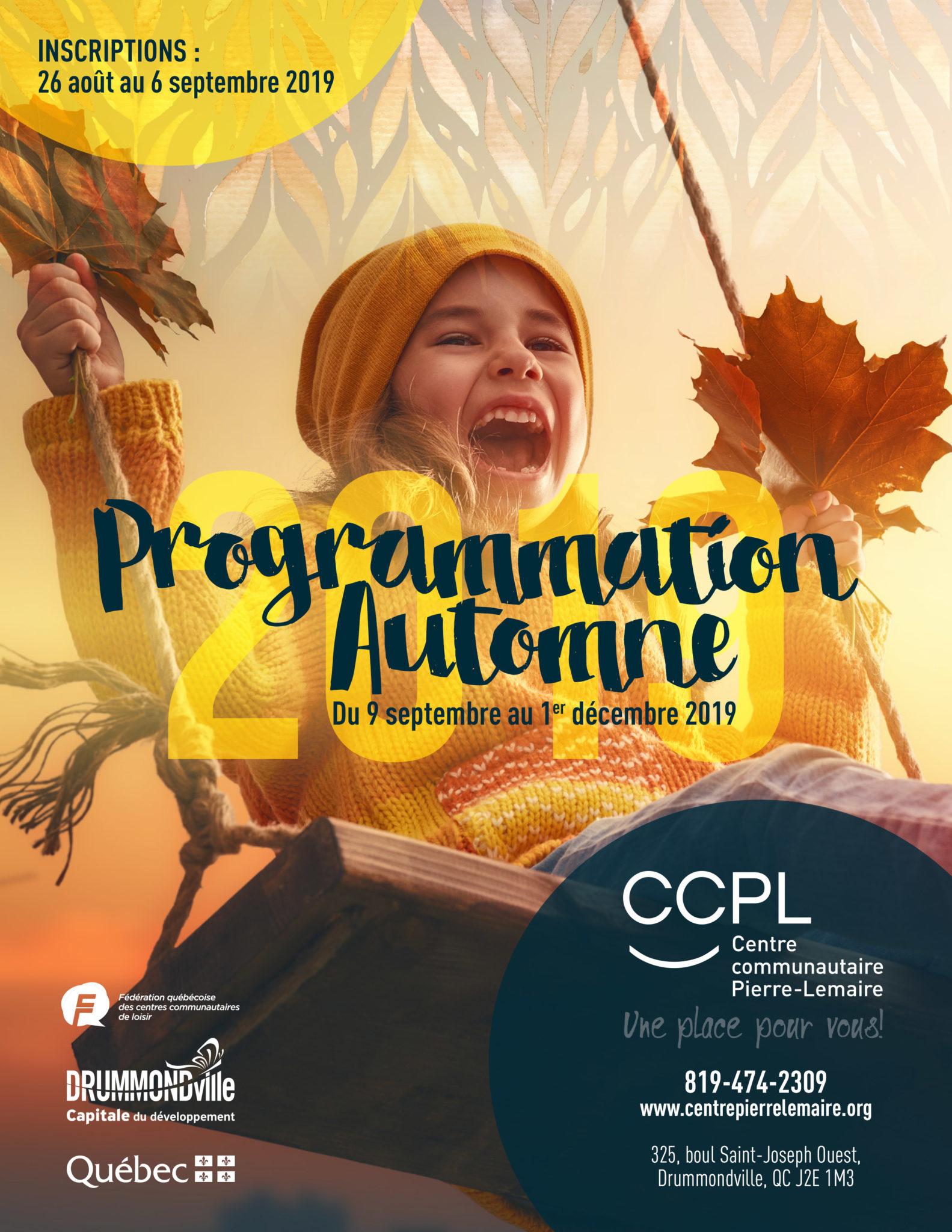 Programmation Automne 2019