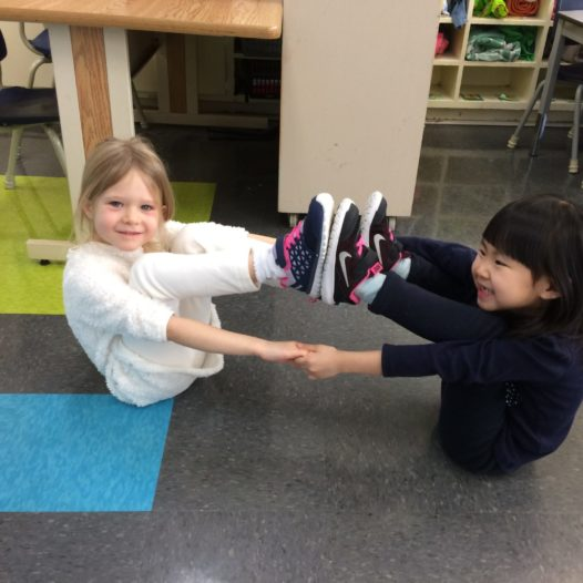 Yoga enfants préscolaire (2-4 ans)