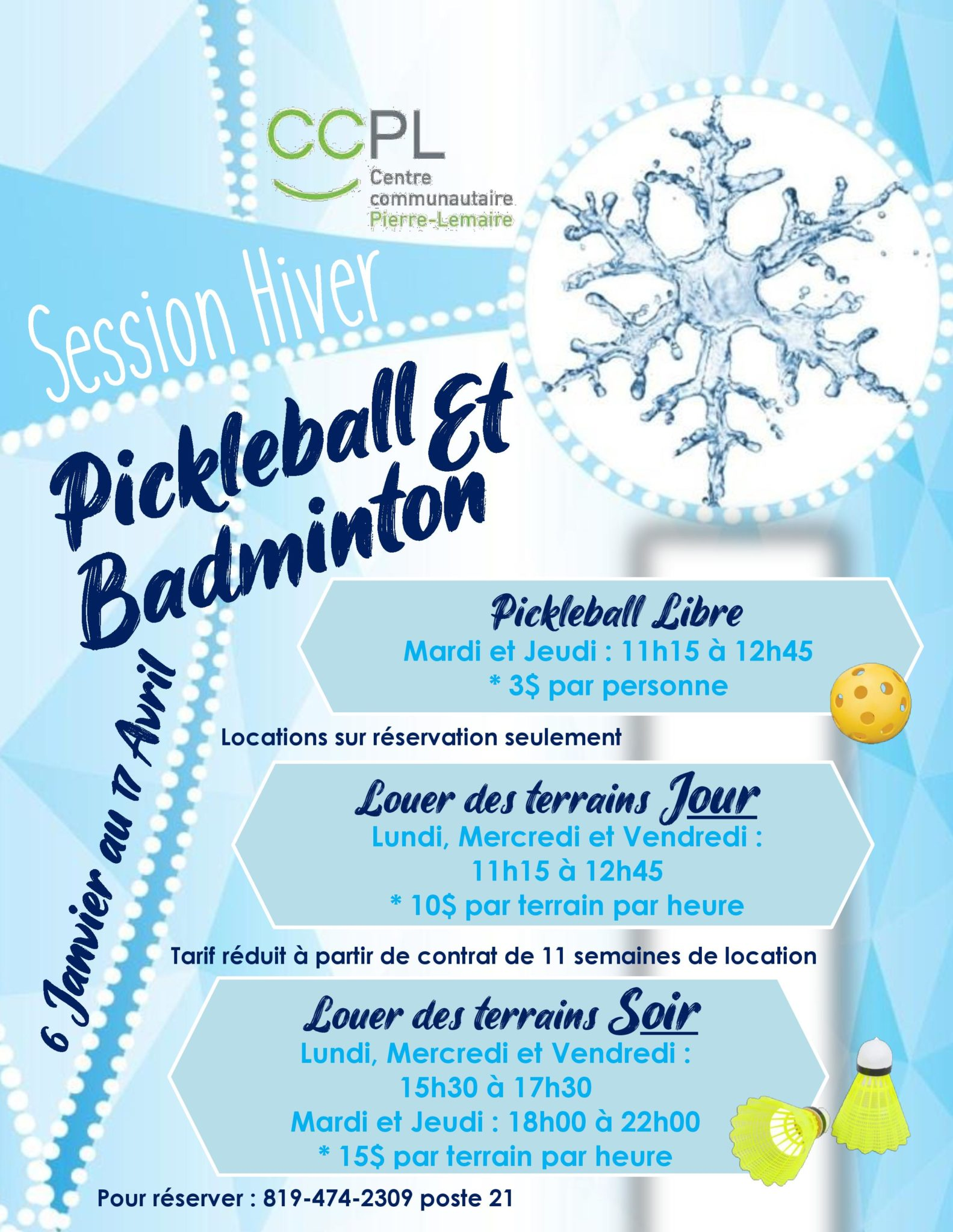 Pickleball / Badminton
