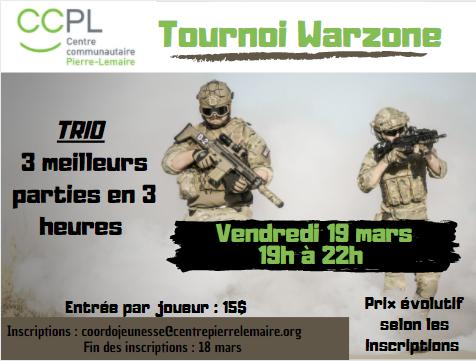 Tournoi Warzone